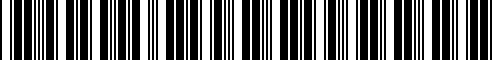 Barcode for NIS08008700