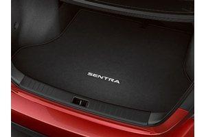 Carpeted Trunk Mat. Trunk Mat image for your 2016 Nissan Sentra